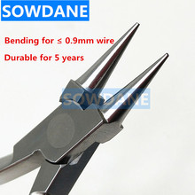 Dental New Adam Wire Bending Wire Forming Pliers Dental Orthodontic Pliers Lab Instrument For Max 0.9mm Wire 3pcs set dental instrument dental x ray sensor positioner holder dental digital x ray film locator for dental lab free shipping