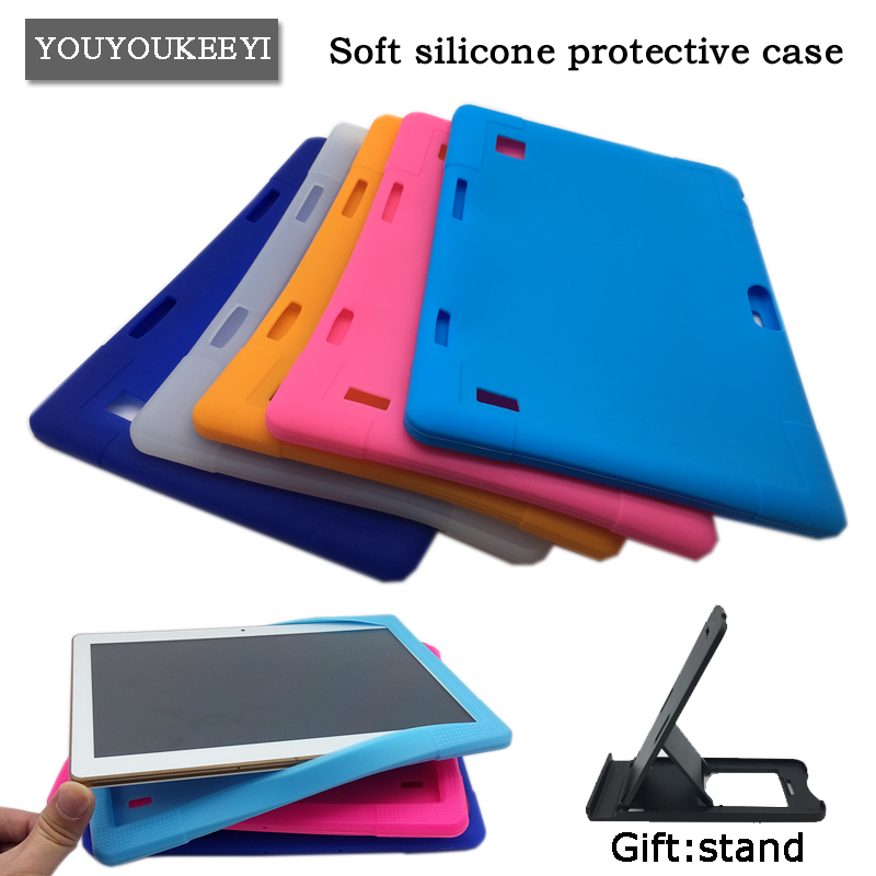 Kids Safe Drop resistance Silicone cover case For BMXC T900 K107 S109 10.1inch tablet Soft silicone protective sleeve ,6 colors