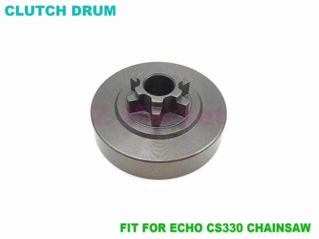 Tambour d\'embrayage 3/8 6 T pour ECHO CS300 CS305 CS306 CS330T CS340 ...