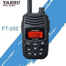 Walkie Talkie YAESU para FT 252 VHF 136 174MHz FM Ham transceptor de Radio bidireccional YAESU FT 252 Radio