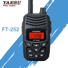 YAESU ווקי טוקי עבור FT 252 VHF 136 174MHz FM חם שתי דרך רדיו משדר YAESU FT  252 רדיו