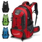 45L Outdoor Sports Trekking Backpacks Climbing Hiking Travel Waterproof Backpacks Men Women Backpacks