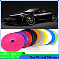 8 Meter/Roll Car Auto Wheel/Rim/Tire Ring Protection Anti-Scratched Scuff  Strip Hub Tire Sticker Decorative Rubber Moulding