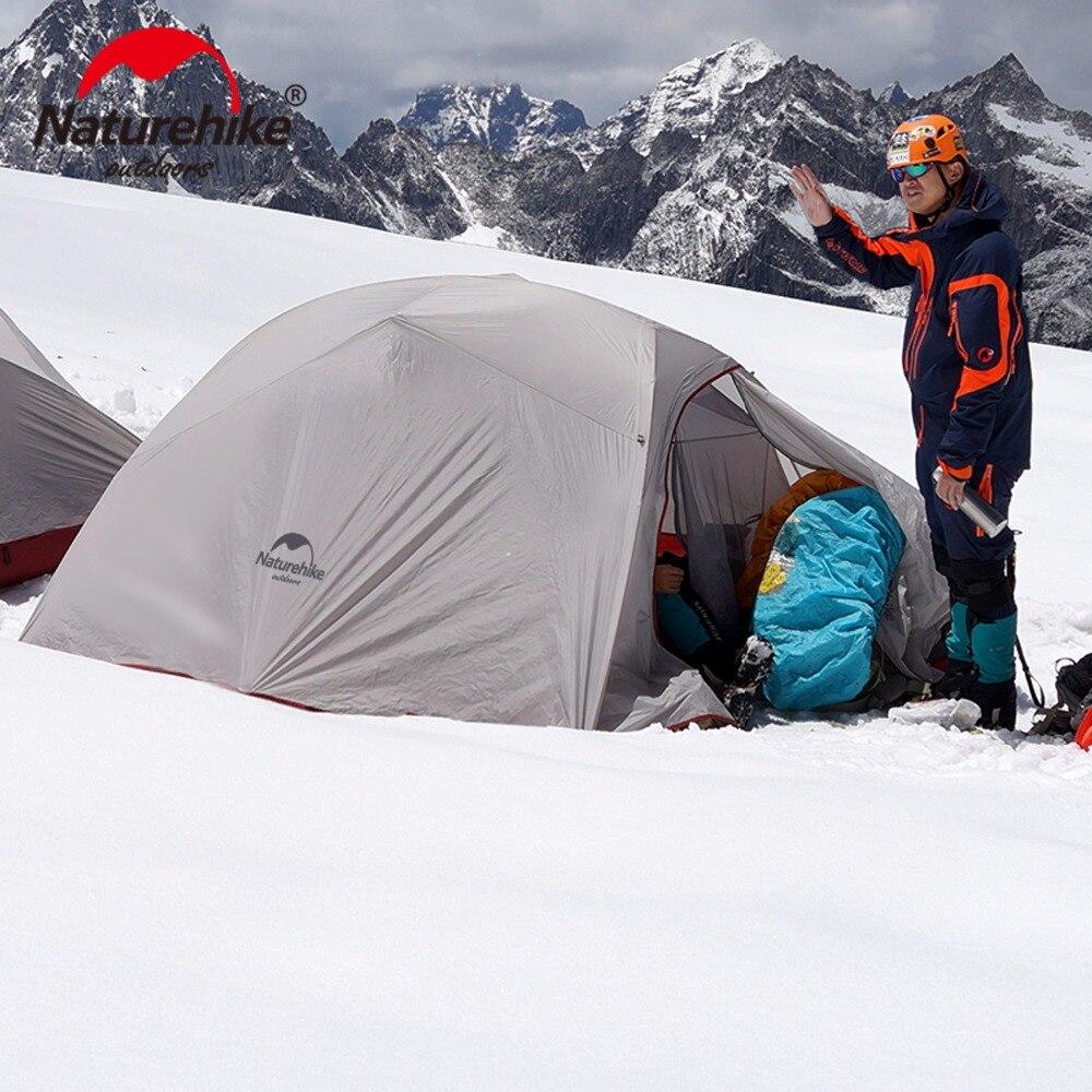 Naturetrekking CloudUp ultra-léger 3 personnes 4 saisons tente de Camping en plein air Double couche tente avec empreinte dédiée