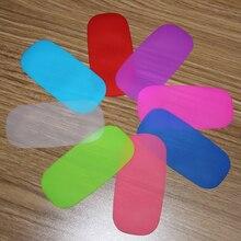 Ультра тонкий 1 шт карамельный цвет чехол для Apple Magic mouse прочная силиконовая Мягкая кожа Пылезащитная пленка для Magic mouse