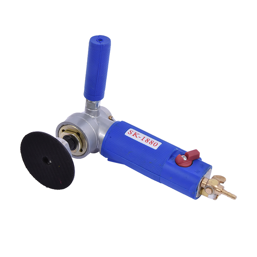 SK-1880  High Quality Water Type-fed 3/4-inch Professional Pneumatic Air Sander Water Wet Sander / Polisher Angle Grinder  toolSK-1880  High Quality Water Type-fed 3/4-inch Professional Pneumatic Air Sander Water Wet Sander / Polisher Angle Grinder  tool