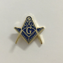10pcs Masonic Brooch Square and Compass with G free masons pins badge  Freemason Lapel Pin Blue Lodge Clutch back Metal Craft 1df5534b3967