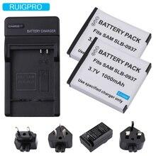 1000mAh SLB-0937 SLB0937 SLB 0937 Rechargeable Digital Camera Battery Pack for Samsung CL5 i8 PL10 L730 L830 NV4