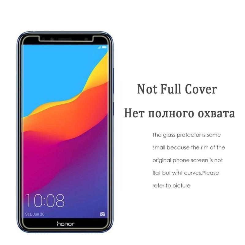 För Huawei Honor 7A Pro 5,7 tums skärmskydd 2.5D 9H härdat glas - Reservdelar och tillbehör för mobiltelefoner - Foto 5