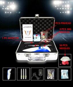 Image 2 - 4 번째 플라즈마 펜 눈꺼풀 리프트 주름 피부 리프팅 50 바늘로 주름 방지 강화 무료 플라즈마 펜 두더지 제거제 기계