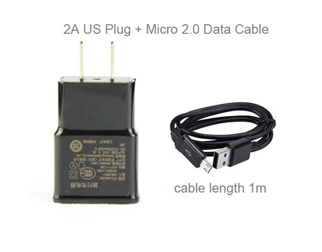 2A ЕС США адаптер мобильный телефон стены Зарядное устройство + USB кабель для HTC Desire EYE 610 <font><b>510</b></font> 616 516, wiko Кенни/Гарри