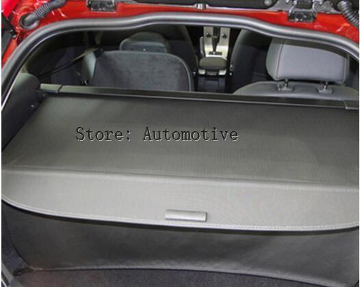 Otomobiller ve Motosikletler'ten Kol Dayanağı'de Araba arka gövde güvenlik kalkanı kargo ekran kalkanı gölge kapağı VOLVO C30 2008 2009 2010 2011 2012 2013 title=