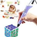 3D Печать Ручка Vcall Новые 3D Перо для Рисования с ЖК-экран Каракули Модель Решений Ремесел Рисунок ABS Материал Питания питания