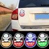 Top Selling 3M Car Sticker Reflective Magnetic Baby In Car Decal Sticker Shop For Porsche Suzuki