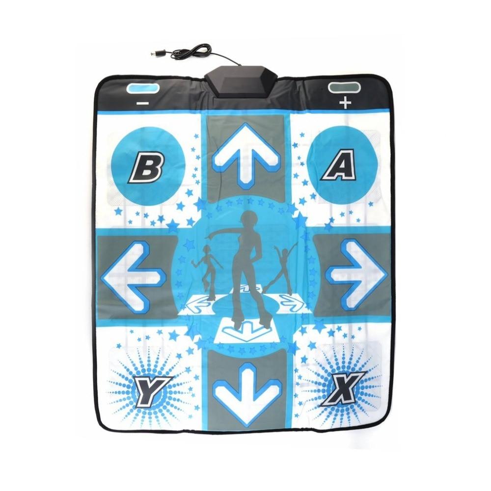 For Nintendo For Wii Non-Slip Dance Pad Dance Mats USB Dance Mat Dancer Blanket For Bodybuilding Fitness Anti-slip For Wii PC