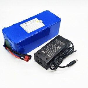 Image 2 - LiitoKala 36V bateria 500W 18650 bateria litowa 36V 8AH z bms bateria do rowerów elektrycznych z skrzynia z pvc na rower elektryczny
