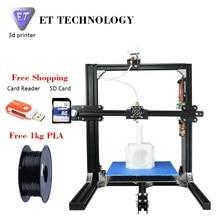 Потребительские 3D Принтер Низкой Цене Не Нарушит Вашего Бумажника Деньги сохранение Наиболее Практичным ET I3 Metal 3D Принтер Машина для Продажи