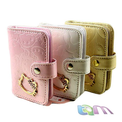 2015 New arrial /Hotsale++Hello Kitty card holder/Cartoon wallet/pink,black,white,gold/W10-42 - Best-Buy Store(min,order $10 store)