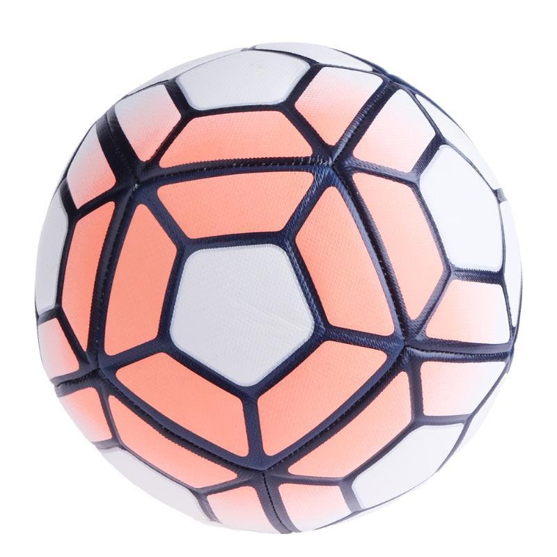 Pallone da calcio N ° 5 Macchina Cucito Calcio Morbido PU Balls antiscivolo Trainning Calcio Obiettivi Regali
