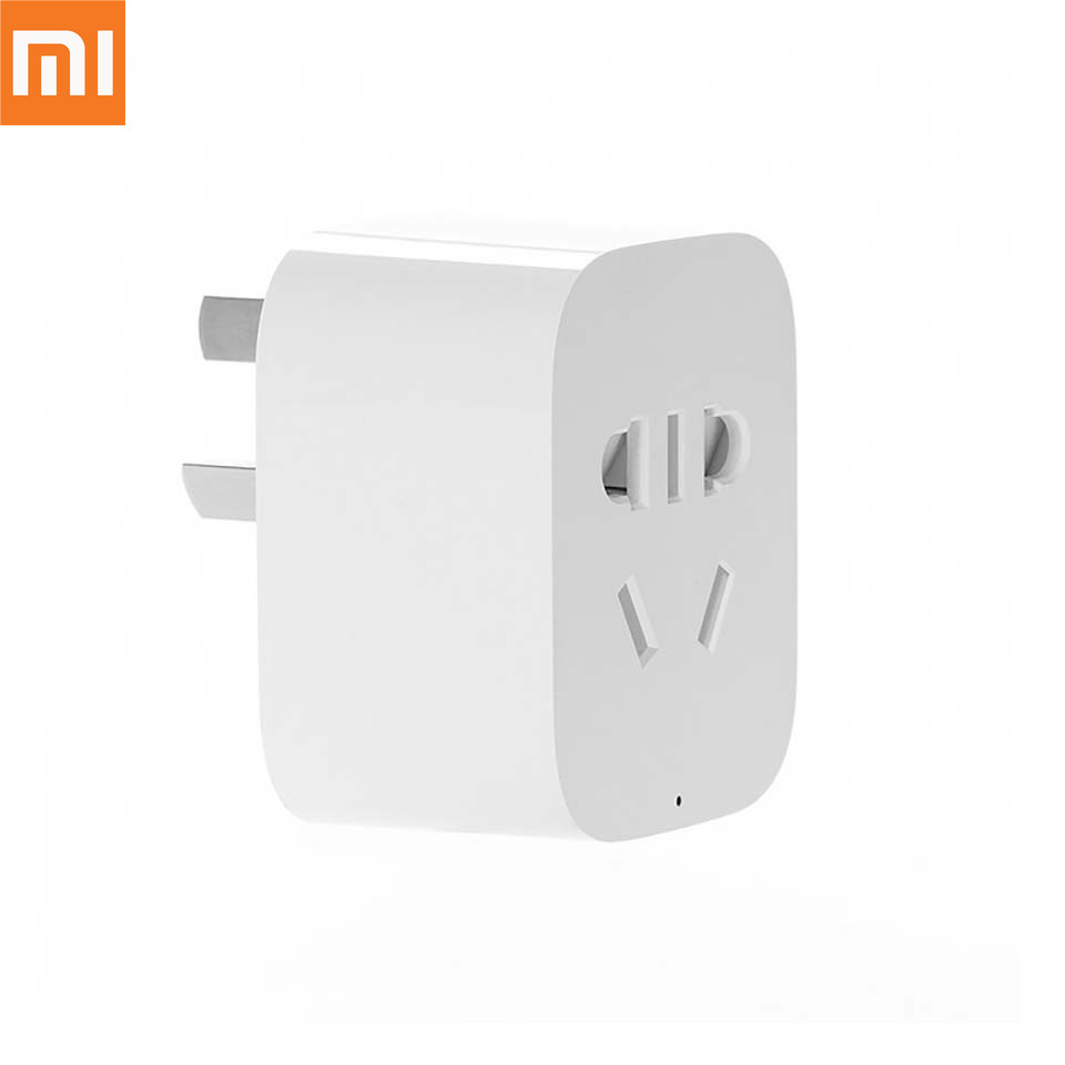 Original Xiaomi Smart Home Socket WiFi Phone Wireless Remote Control Smart Plug for Smart Mi Home APP Remote Control