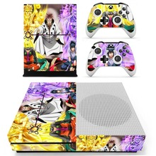 Anime Naruto Skin Sticker Decal For Xbox One S Console and Controller Skins Stickers for Xbox One Slim Skin Vinyl
