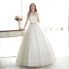 vestido de noiva princess style boho lace bohemian wedding dress 2016 bride dress simple bridal gown real photo wedding-dress