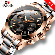 купить HAIQIN Men's Watches sport/Mliltary/Gold watch men wristwatch mens watches top brand luxury relojes hombre wrist watch male 2018 по цене 1301.97 рублей