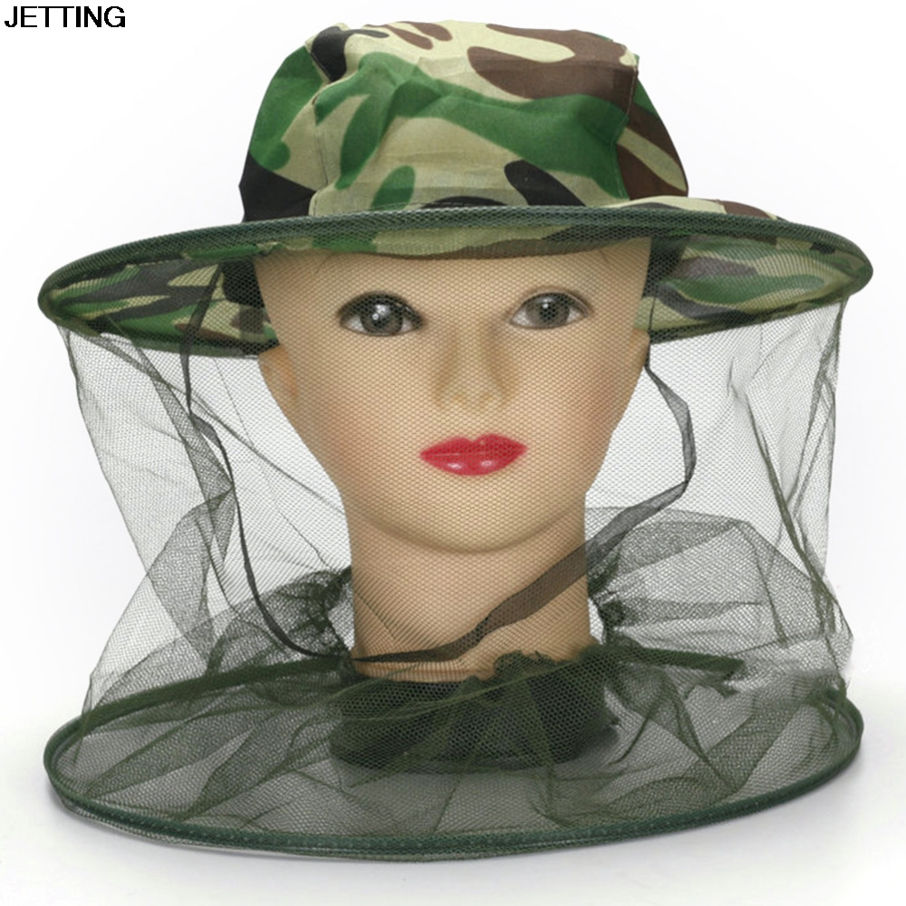 Men's Hats New Arrival Bucket Hat Men Women Sun Block Net Mesh Face Protector Cap Insect Bee Mosquito Resistance Camouflage Boonie Hats To Reduce Body Weight And Prolong Life