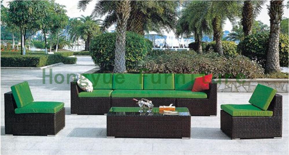 Rattan Sofa Set For Garden,outdoor Garden Furniture(China (Mainland))