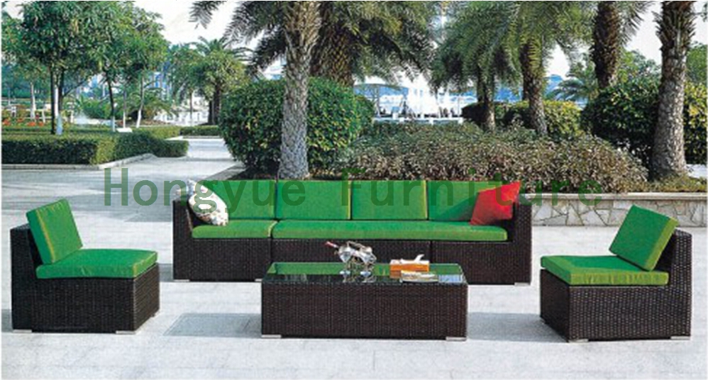 Rattan sofa set for garden,outdoor garden furniture
