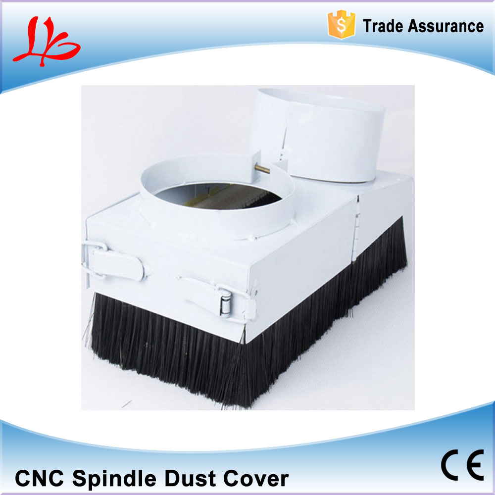 80mm Spindle dust cover for CNC machine with 1.5KW and 2.2KW spindle motor dust cover for cnc machine dust proof height 200mm
