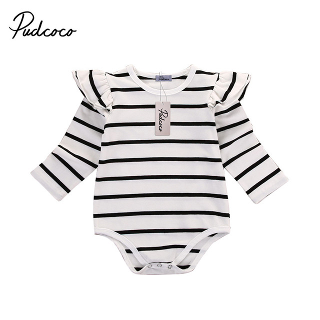 99320663e Newborn girl Autumn Spring Clothes Baby girl One Pieces Child Baby ...