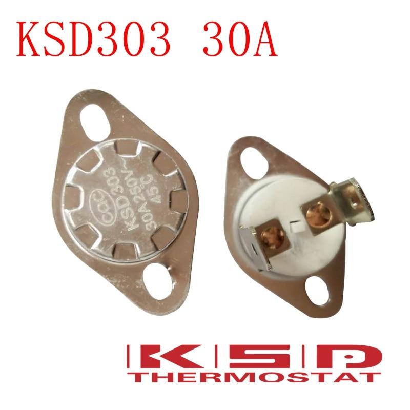 5Pcs NC Ceramic Temperature Switch Thermostat 155 Degree Celsius KSD301