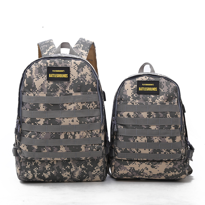 Blsx Playerunknown's Battlegrounds Winner Chicken Dinner Level1-3 Instructor Backpack Multi-functional Backpack Multicolor