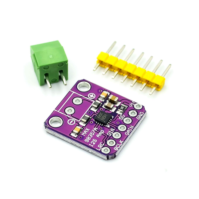Усилитель Max98357 I2S 3 Вт, класс D, интерфейс разрыва, ЦАП, модуль декодера, безфильтровая аудиоплата для Raspberry Pi Esp32