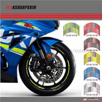 12 X Thick Edge Outer Rim Sticker Stripe Wheel Decals FIT all SUZUKI GSXR 250 400 600 1000 750 GSXR1000R GSXR1000 GSXR600 750