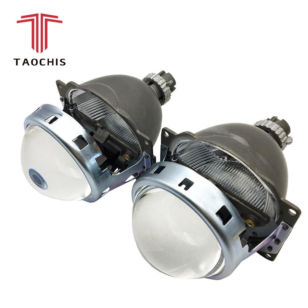 TAOCHIS Auto head light 3 0 inch Bi xenon Projector Lens Koito Q5 Lossless installation Non