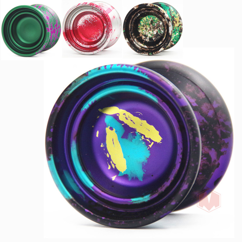 New arrive HUATIAN Holiday2 YO-YO KK bearing Trendy section of professional metal yoyo ball Christmas gift for yoyo player beboo yoyo professional yoyo ball yo yo set kk bearing yo yo metal yoyo classic toys diabolo magic gift for children n11