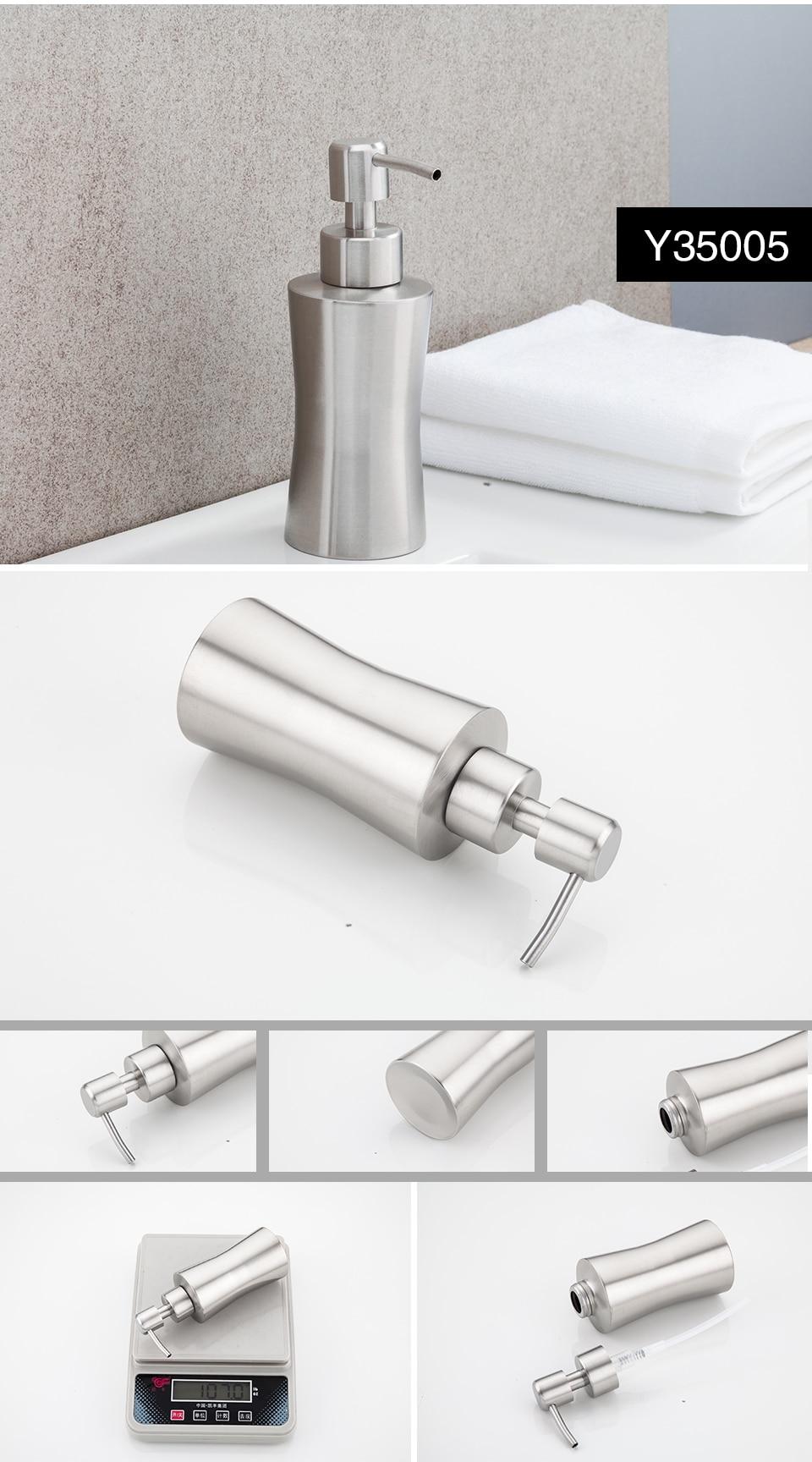 Distribuidores de sabonete líquido GAPPO para banheiro e cozinha com bombas de sabão