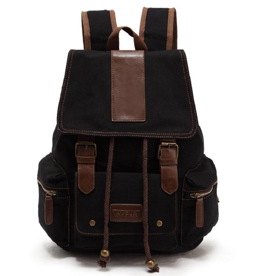 f10d8576ff91 Hot Sales Brand vászon hátizsák nagy kapacitású szabadidő férfi ...