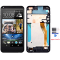 Black For HTC Desire 816 816W D816x lcd display touch screen with digitizer + Bezel frame full assembly ,  free shipping !!!