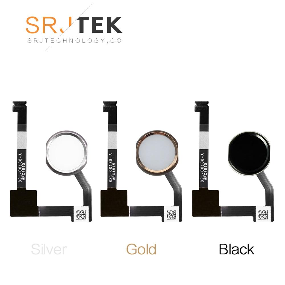 SRJTEK Home Menu Button For IPad Mini 4 Flex Connector Ribbon Cable For IPad Mini 4 Home Button Flex Cable With Button