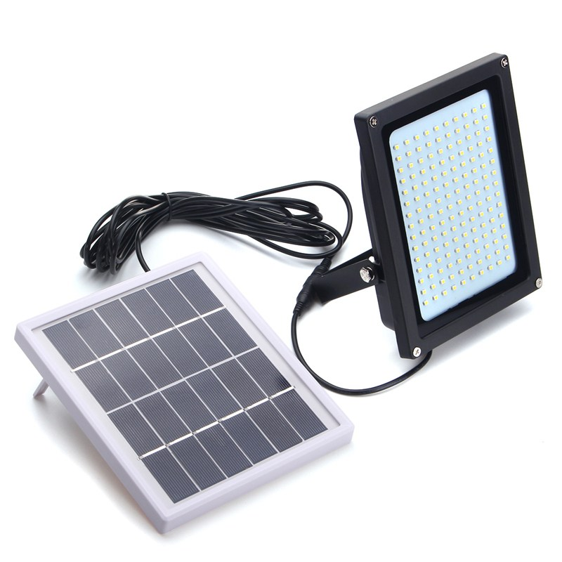 150 LED Solar Light 3528 SMD Solar Powered LED Flood Light Sensor Outdoor Garden Security LED Floodlight Wall Lamp 8W 5 pieces lot solar powered panel led street light solar lighting outdoor path wall emergency lamp security flood light