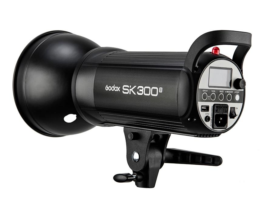 Product New Godox SK SK300II SK300 II 110V 220V Professional Studio Strobe Power 5600K 300WS GN58 Mini Studio Flash Light Lamp lenspen sensorklear ii sk ii a