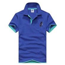 2018 Brand New Men s Polo Shirt Men Cotton Short Sleeve shirt sportspolo jerseys golftennis Plus