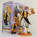 Fairy Tail Natsu Dragneel 25cm PVC Action Figure Toy Collective Doll With Box Free shipping