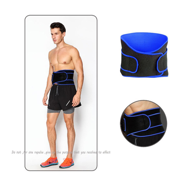 1Pcs Adjustable Waist Trimmer Belt / Weight Loss Ab Wrap / Sweat Workout Enhancer / Back & Lumbar Support / Tummy Belt 4