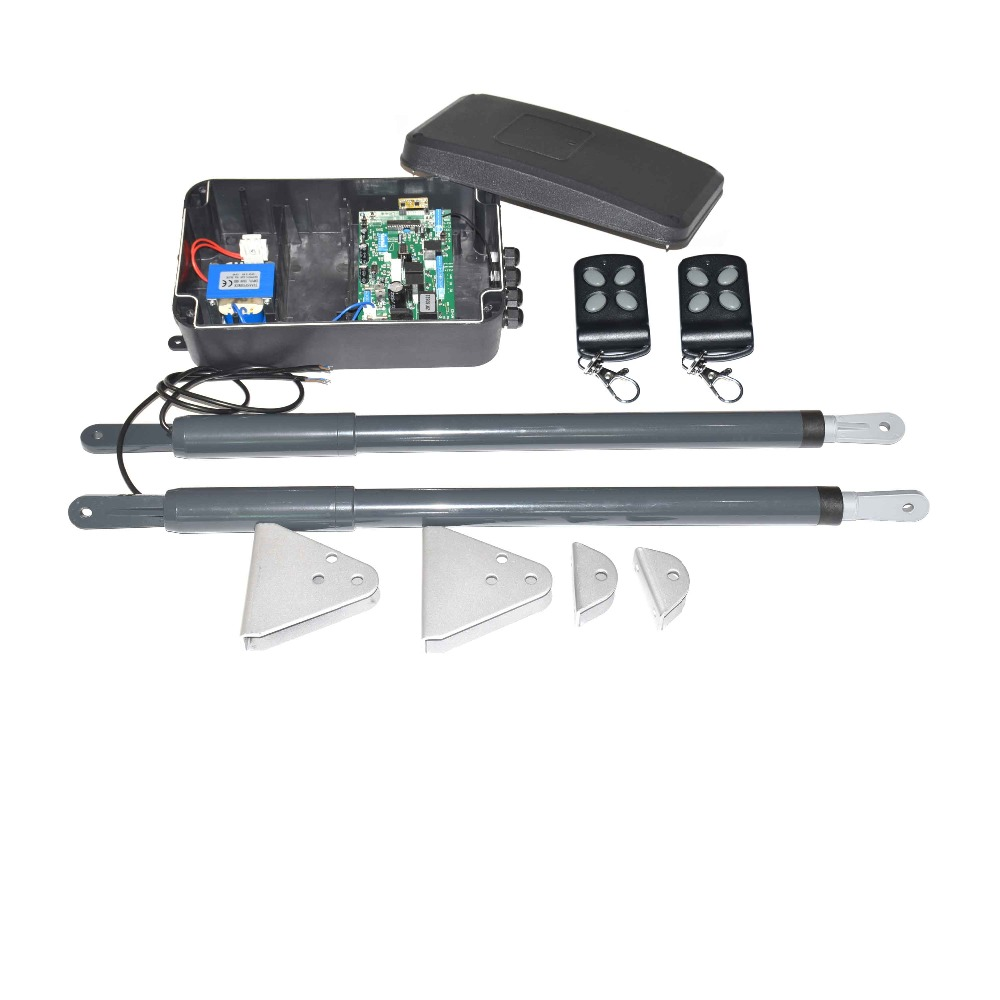 Water Proof Automatic Swing Gate Opener Electric Linear Actuator Double Arms Swing Gate Motor Kit on Linear Actuator For Electric Automatic Gate Opener View