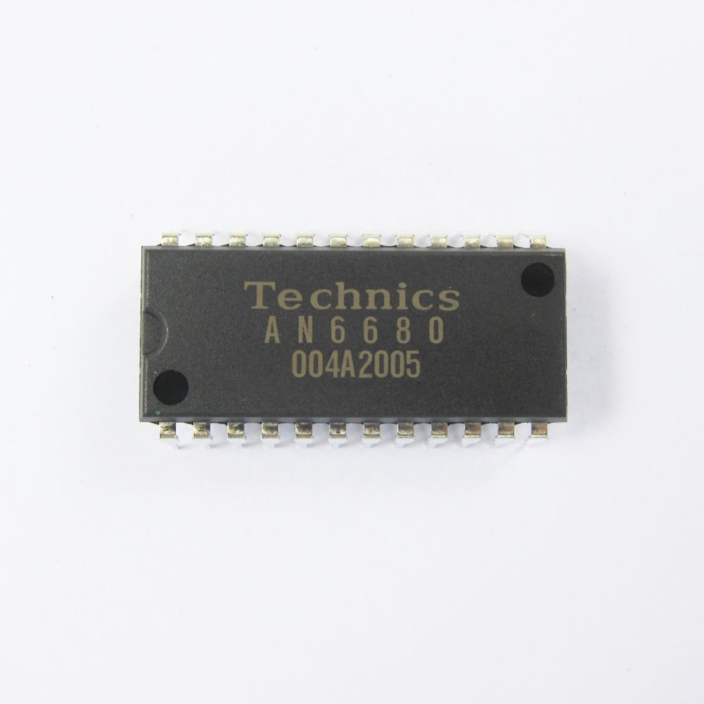 Original new Technics IC Linear AN6680 integrated circuit Control Chip SL1200 SL1210 MK 2 3 5 the new usb integrated circuit tester 7440 series ic analog chip can determine whether the logic gate is good or bad