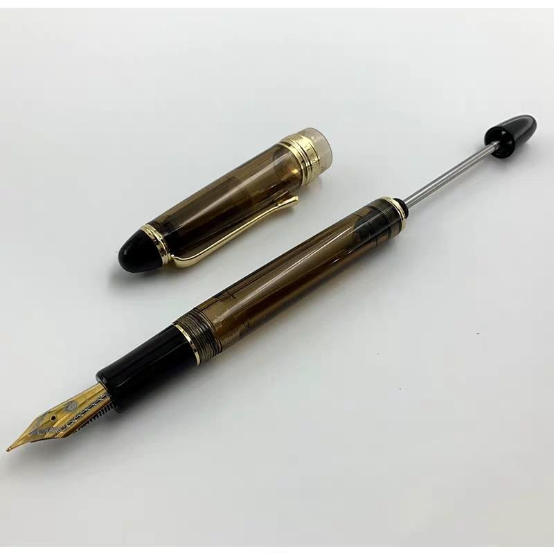 Hero Wing Sung 699 Vacuum Filling Fountain Pen High Capacity Ink Pen EF/Fin/Medium Nib Stationery Office School Writing Gift